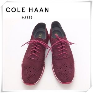 NWOT Cole Haan Zerogrand Wingtip Oxford Shoes